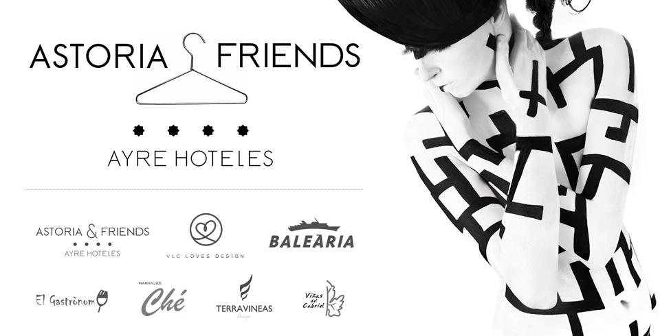 Exposición de Diseñadores de Moda en el Club Astoria & Friends