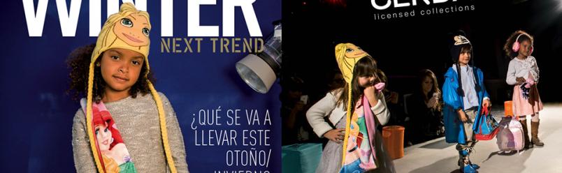 Atrezzo y estilismo para catálogo infantil otoño / invierno 2014