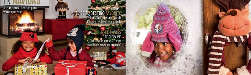 Atrezzo y estilismo para catálogo navidad 2013