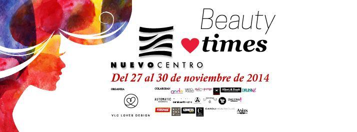 Evento de Moda y Belleza organizado por Vlc Loves Design para Nuevo Centro